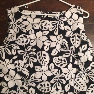 Amanda Smith Woman Black & White Shift Dress Plus+